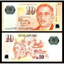 SINGAPORE  10 Dollars 2004 Polymer UNC P 48 m
