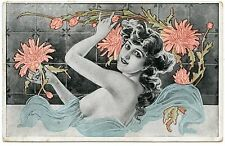 ART NOUVEAU. NU. CHARME. CHARM. NAKED. EROTIC. EROTIQUE