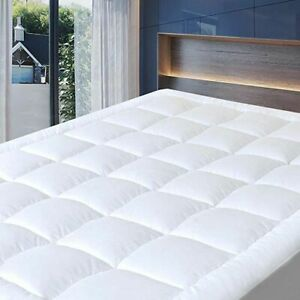 Extra Deep Quilted 100 %Waterproof Mattress Protector In All Sizes