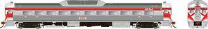 RAPIDO TRAINS 16706 HO SCALE RDC-1 CP Ph2 #9068 DCC & Sound