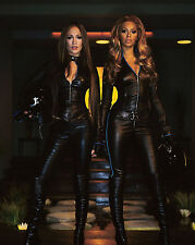 Beyonce And Jennifer Lopez 8X10 Photo Picture Pic Hot Sexy Tight Leather 36