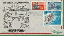 1965 Mexico FDC cover Pre-Olympic Series