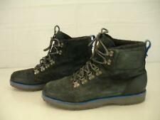 Mens sz 12.5 M Adidas Ransom Summit 2.0 G46514 Black Leather Lace-Up Boots Ankle