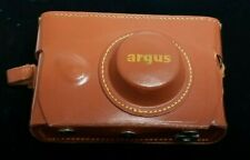 Argus 1940's Vintage 35 MM Camera in Leather Case