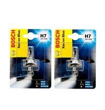 2x BOSCH XENON BLUE H7 12V 55W Halogen Auto Lampe Original 1987302075 WOW!!!