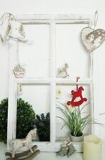 Deko Fenster Fensterrahmen Sprossenfenster  Weiß Holz Shabby Vintage Landhaus