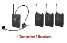 UHF-938 Portable Wireless headset Tour Guide System Translation guide system