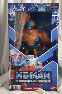 """HE-MAN AND THE MASTERS OF THE UNIVERSE ~ MAN-AT-ARMS ~ 8.5"""" BONECO NETFLIX 2021"""