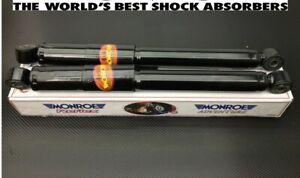 SUZUKI JIMNY 1.3 REAR SHOCK ABSORBER SHOCKERS (PAIR) (MONROE OE QUALITY)