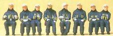 H0 Preiser 10483 Feuerwehrmänner in moderner Einsatzkleidung. Figuren. OVP
