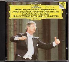 "GARDINER ""BRAHMS/ DVORAK"" CD 1993 deutsche grammophon"