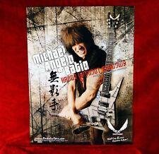 TWO<<>>Michael Angelo Batio Dean Guitars Promo Posters