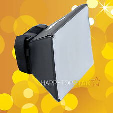 Mini Flash Diffuser Softbox Soft box for Canon EOS 420EX 380EX 580EX II 600EX-RT