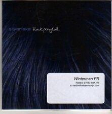(CC72) Silverlake, Black Ponytail EP - 2011 DJ CD