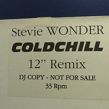 "MAXI 12"" STEVIE WONDER Coldchill PROMO 2604"