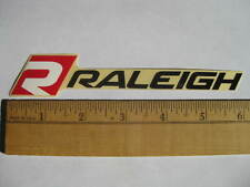 "6"" RALEIGH Mountain MTB Road Tri Race Ride  Bike Bicycle Frame Sticker Decal"