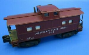 """Gilbert American Flyer Model Trains ~ """"The 930 Caboose"""" 🚂"""