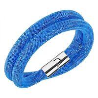 Swarovski Crystal Stardust Blue Double Bracelet