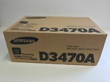 Genuine Samsung D3470A Black Toner Cartridge ML-D3470A, Factory Sealed