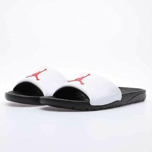JORDAN 23 Air Nike BREAK SLIDE flip flops WHITE BLACK