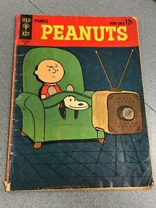 Peanuts #1 Gold Key Comics 1963 low grade