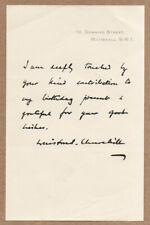 More details for 1954 winston s. churchill signature birthday letter 10 downing street whitehall