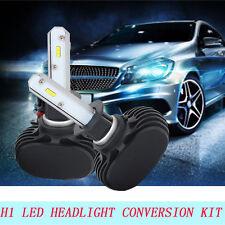 Pair H1 LED Headlight 8000LM Bulb Conversion Kit Honda BMW Audi Acura Lexus Ford