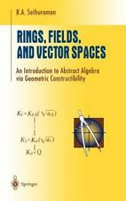 Rings, Fields, and Vector Spaces: An Introduction to Abstract Algebra -ExLibrary