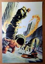 Fantastic Four Omnibus Marvel Comics Poster by Alex Ross