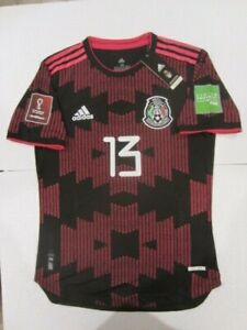 ADIDAS GUILLERMO MEMO OCHOA MEXICO WC QUALIFIERS MATCH BLACK HOME JERSEY 2020-21
