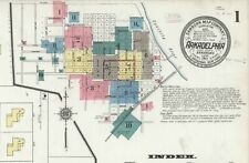 Arkadelphia, Arkansas~Sanborn Map© sheets~ 48 maps~~ CD~in full color~1886-1918