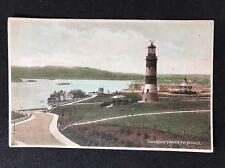 Vintage RPPC: Devon: #T100: Smeaton Tower, Plymouth