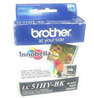 Genuine Brother LC51BK High Yield Innobella Ink Cartridge LC51HY-BK exp 2011