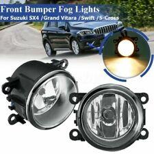 1 Pair Fog Light Front Bumper Lamps For Suzuki SX4 Swift Grand Vitara JIMNY Alto