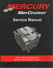 2009 MERCURY MERCRUISER EMISSION CONTROL SERVICE MANUAL SUPPLEMENT(446)