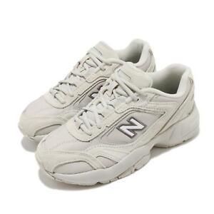 New Balance 452 Wide Beige Milktea Womens Heritage Running Shoes WX452SR D