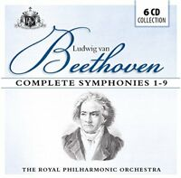 The Royal Philharmonic Orchestra - Beethoven: Complete Symphonies 1-9 [CD]