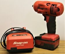 "Snap-On 3/8"" Cordless Impact Wrench w/ 1 Battery + Charger"