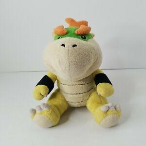 """RARE Baby Bowser Koopa 7"""" Plush Super Mario Official SAN-EI Nintendo SS009-118"""