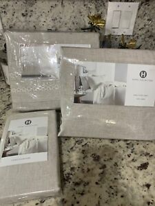 Hotel Collection Madison King Duvet Cover+2King Pillowcases+ King Fitted Sheet!