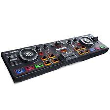 Numark DJ2GO2 2‑Channel Pocket DJ Controller with Audio Interface & Serato Intro