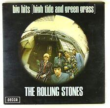 "12"" LP - The Rolling Stones - Big Hits [High Tide] - M1154 - Decca - Green Label"
