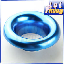 """4"""" UNIVERSAL VELOCITY STACK FOR COLD / RAM ENGINE AIR INTAKE / TURBO HORN BLUE"""
