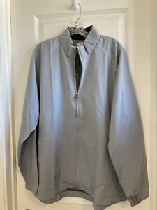 Nwt adiPure By Adidas Lightweight Wind Jacket Mens Size L Gray