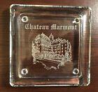 VINTAGE 80s CHATEAU MARMONT HOTEL GIFT SHOP ASHTRAY
