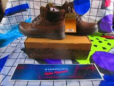 Uk 7 Cotswold Gloucester brown  boots  deadstock shoes