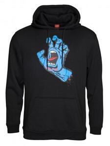 SANTA CRUZ - Screaming Hand Hooded Top - Skateboard Hoodie - Black  SMALL