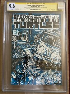 Ninja Turtles #3 NYCC variant Cgc 9.6 Signature Series From Eastman's Collection