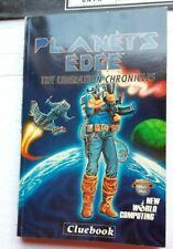 Planets Edge Liberation Chronicles 1992 Clue Book, Manual Install Guide Poster