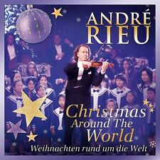"""ANDRE RIEU """"WEIHNACHTEN RUND UM DIE WELT"""" CD NEUWARE!!!"""